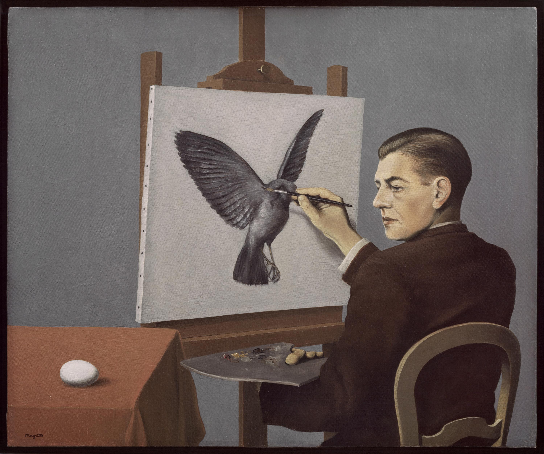 La clairvoyance - René Magritte - 1936 - Moma