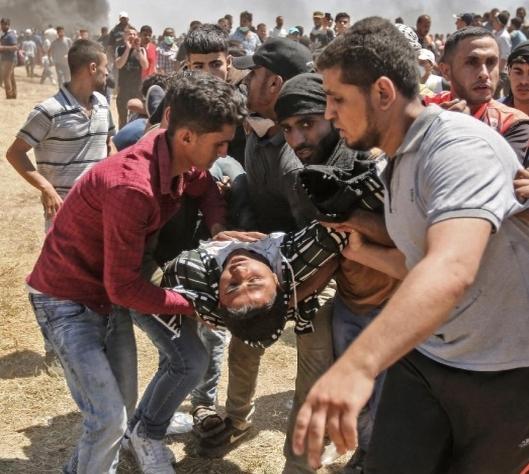 mourir à Gaza
